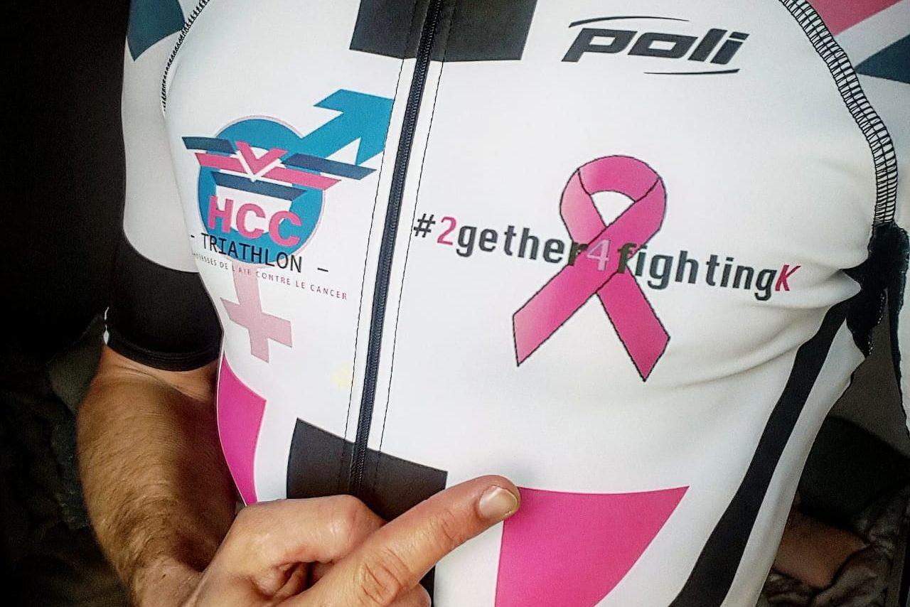 O desafio final: Ironman 70.3 Mallorca, Geoffroy G, finalizador sob as cores da associação
