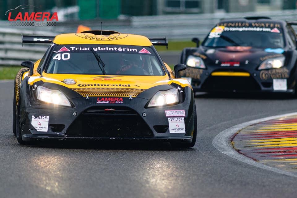 La LAMERA CUP, une voiture et une team d'exception pour une association d'exception