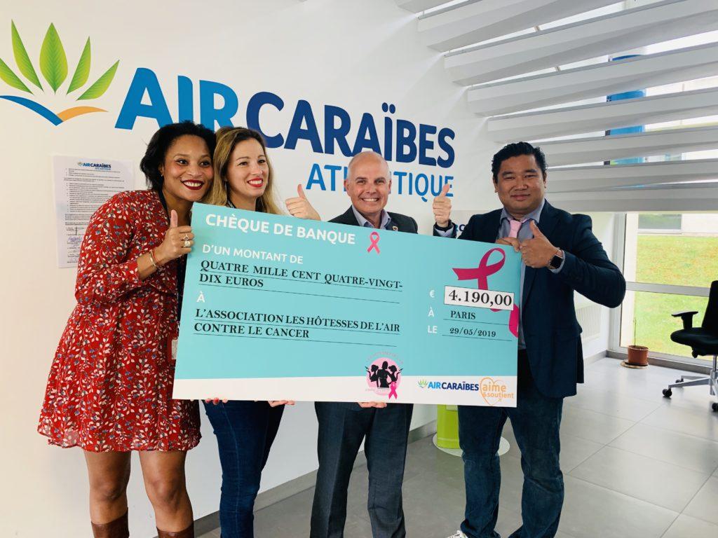 Air Caraïbes, un engagement volontaire et affirmé au profit de notre cause