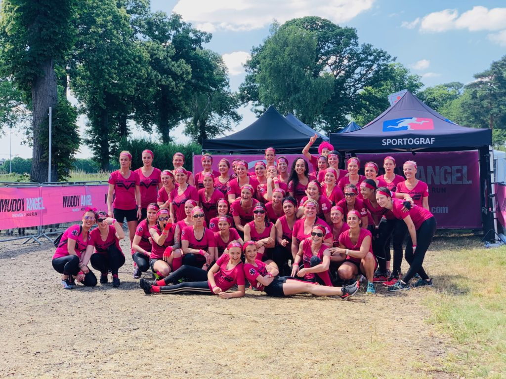 Muddy Angel Run, 22 giugno 2019 Paris Enghien, una gara prevista