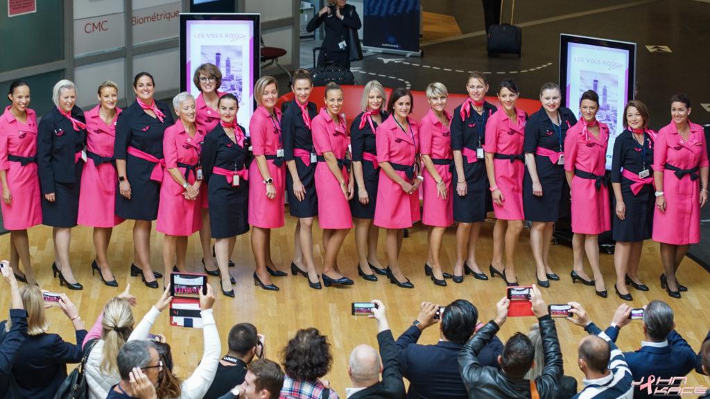 1er Vol Rose de la saison 2019 opéré par Air France ce 04 octobre, en partenariat avec Delta Air Lines à Atlanta