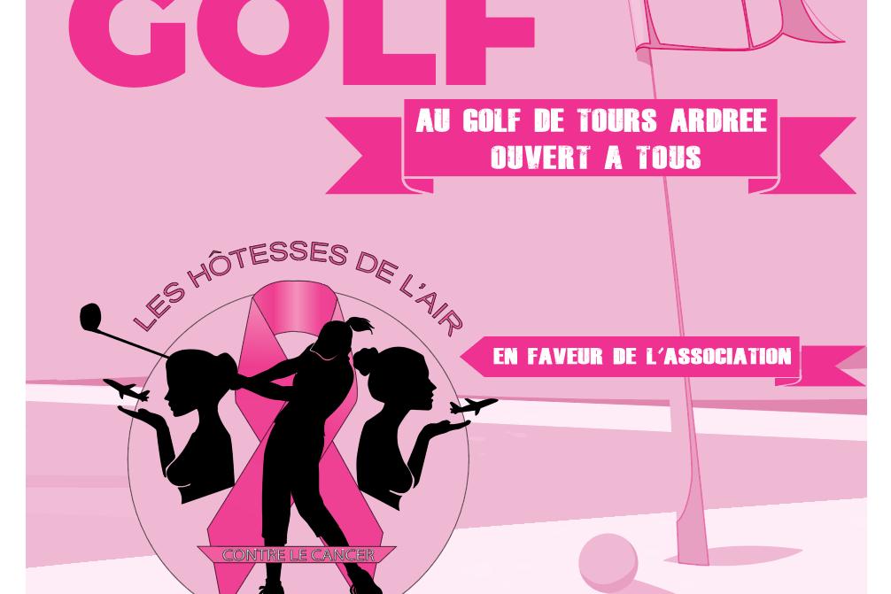 1er Tournoi de Golf en faveur de l'association ce 03 octobre 2021